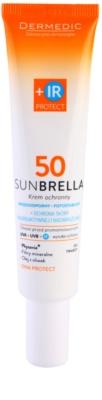 Dermedic Sunbrella schützende Creme mit Mineralien für besonders empfindliche Haut SPF 50