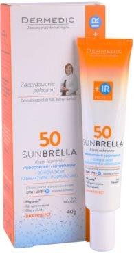 Dermedic Sunbrella crema protectora mineral para pieles sensibles  SPF 50 2