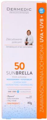 Dermedic Sunbrella minerální ochranný krém pro velmi citlivou pleť SPF 50 3