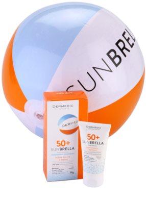 Dermedic Sunbrella crema protectora mineral para pieles grasas y mixtas  SPF 50+ 3