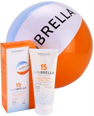 Dermedic Sunbrella mleczko ochronne SPF 15 2