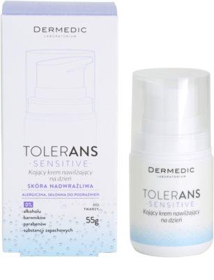 Dermedic Tolerans успокояващ дневен хидратиращ крем 3