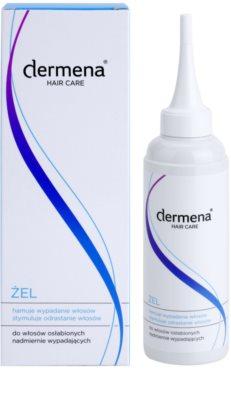 Dermena Hair Care żel stymulujący na porost włosów i wzmocnienie cebulek 1