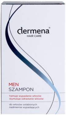 Dermena Hair Care Men szampon wzmacniający przeciw wypadaniu włosów 2