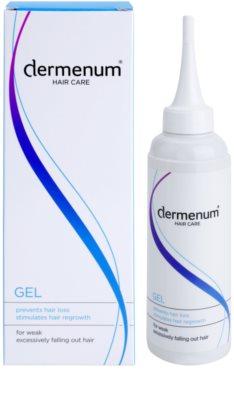 Dermenum Hair Care stimulierendes Gel zur Stärkung der Haare 1