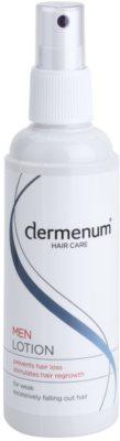 Dermenum Hair Care Men regenerierende Pflege für das Wachstum der Haare und die Stärkung von den Wurzeln heraus