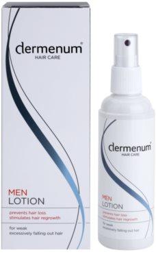 Dermenum Hair Care Men regenerierende Pflege für das Wachstum der Haare und die Stärkung von den Wurzeln heraus 1