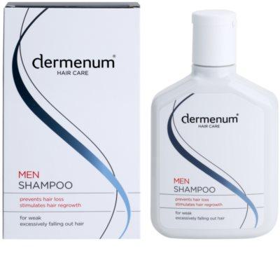 Dermenum Hair Care Men stärkendes Shampoo gegen Haarausfall 1