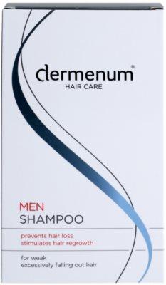 Dermenum Hair Care Men stärkendes Shampoo gegen Haarausfall 2