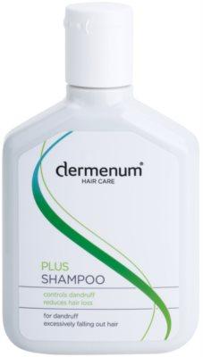 Dermenum Hair Care Plus champú revitalizador anticaspa y anticaída