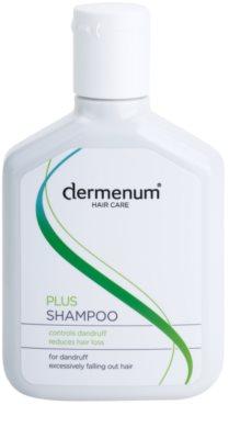 Dermenum Hair Care Plus stärkendes Shampoo gegen Schuppen und Haarausfall