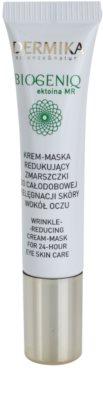 Dermika Biogeniq krémová maska proti vráskám očního okolí