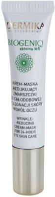 Dermika Biogeniq mascarilla textura crema contra las arrugas del contorno de ojos