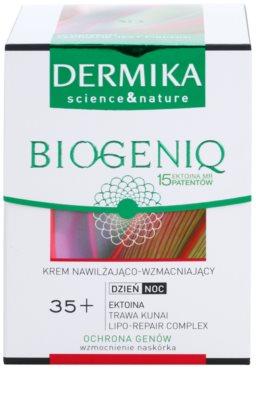 Dermika Biogeniq feuchtigkeitsspendende und stärkende Gesichtscreme 2