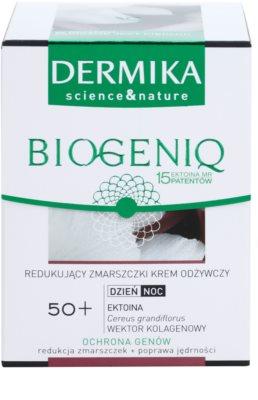 Dermika Biogeniq nährende Anti-Falten Creme für reife Haut 2