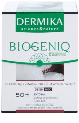 Dermika Biogeniq wygładzający krem przeciwzmarszczkowy do skóry dojrzałej 2