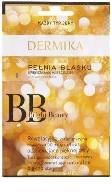 Dermika BB Bright Beauty maseczka rozjaśniająca do odmładzania skóry