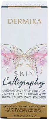 Dermika Skin Calligraphy creme contornos de olhos refirmante 3
