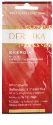 Dermika Energy energizující pleťová maska s hydratačním účinkem