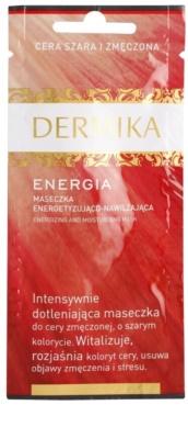 Dermika Energy mascarilla facial energizante con efecto humectante