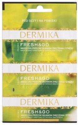 Dermika Fresh & Go maska proti príznakom únavy a stresu na očné okolie