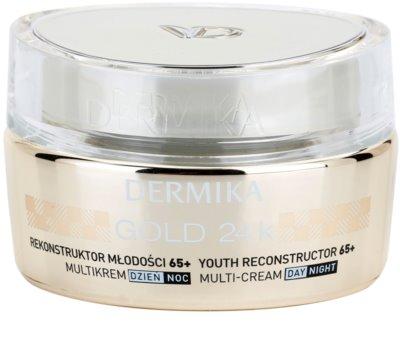 Dermika Gold 24k Total Benefit crema de lujo rejuvenecedora 65+