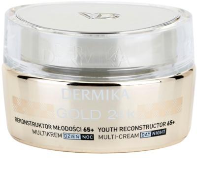 Dermika Gold 24k Total Benefit Crema intinerirea pielii 65 +