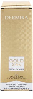 Dermika Gold 24k Total Benefit sérum rejuvenecedor para iluminar y alisar la piel 2