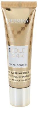 Dermika Gold 24k Total Benefit fiatalító szérum az öregedés jelei ellen