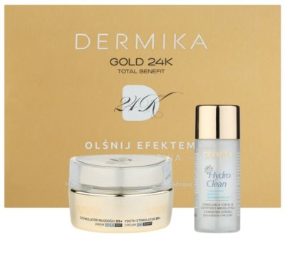 Dermika Gold 24k Total Benefit set cosmetice I.