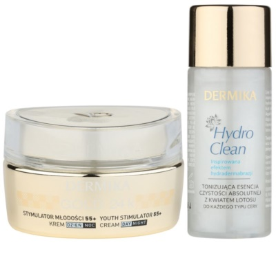 Dermika Gold 24k Total Benefit kosmetická sada I. 1