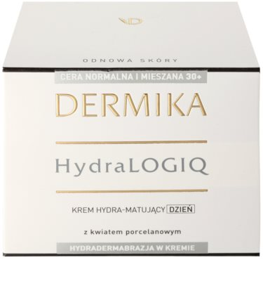 Dermika HydraLOGIQ mattierende Feuchtigkeitscreme für normale Haut und Mischhaut 2