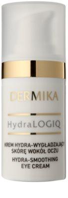 Dermika HydraLOGIQ розгладжуючий крем для очей 30+ 1
