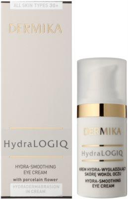 Dermika HydraLOGIQ розгладжуючий крем для очей 30+ 2