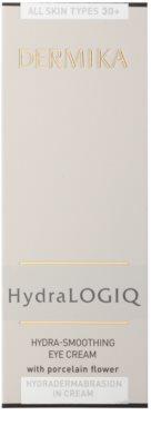 Dermika HydraLOGIQ розгладжуючий крем для очей 30+ 3