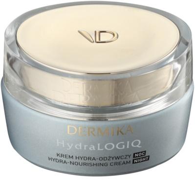 Dermika HydraLOGIQ crema de noapte nutritiva cu efect de hidratare