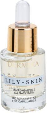 Dermika Lily Skin Gelpflege gegen vergrößerte Adern