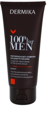 Dermika 100% for Men bálsamo after shave apaziguador