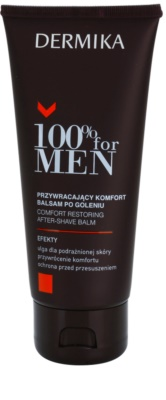 Dermika 100% for Men bálsamo calmante after shave