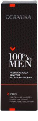 Dermika 100% for Men beruhigendes After Shave Balsam 2