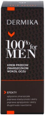 Dermika 100% for Men szemránckrém 2