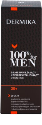 Dermika 100% for Men cream de revitalizare si hidratare extrema 30+ 3