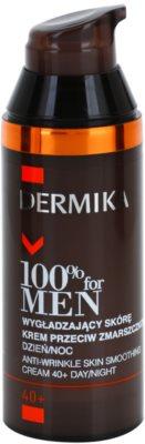 Dermika 100% for Men vyhlazující protivráskový krém 40+ 1