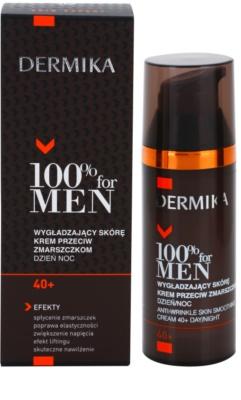 Dermika 100% for Men vyhladzujúci protivráskový krém 40+ 2
