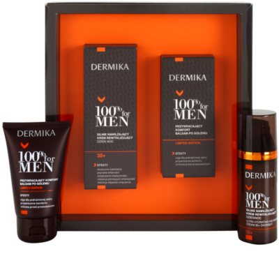Dermika 100% for Men Kosmetik-Set  III. 1