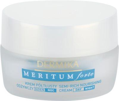 Dermika Meritum Forte nährende Creme für trockene bis empfindliche Haut