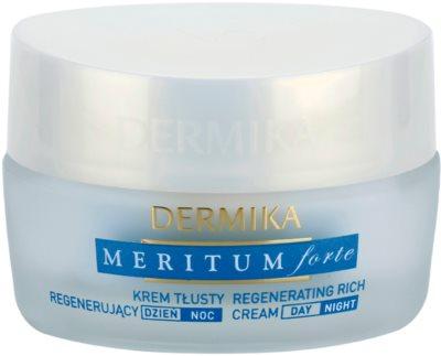 Dermika Meritum Forte crema regeneradora para pieles secas