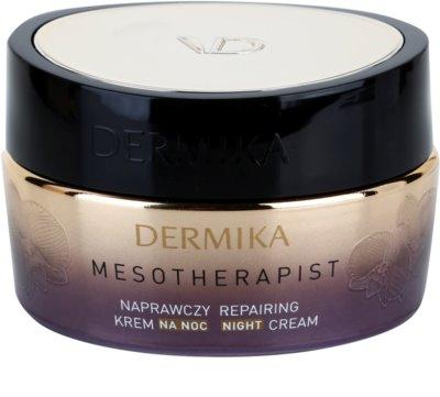 Dermika Mesotherapist crema de noapte cu efect de anti imbatranire pentru ten matur
