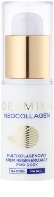 Dermika Neocollagen creme regenerador e reafirmante para o contorno dos olhos