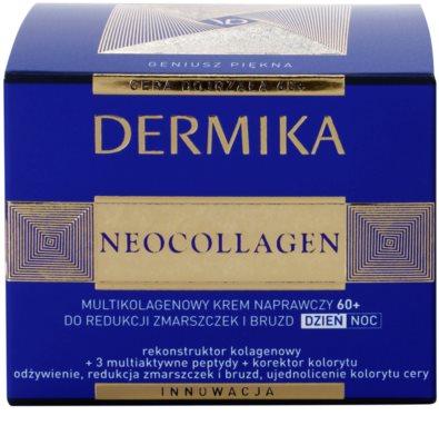 Dermika Neocollagen erneuernde Creme zur Reduktion tiefer Falten 60+ 3